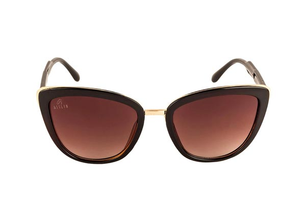 Aislin UV Protected Cat eye Rectangular Women's Sunglasses