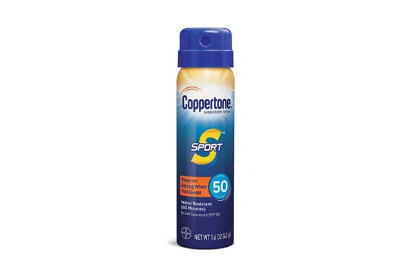 Coppertone SPORT Continuous Sunscreen Spray Broad Spectrum SPF 50
