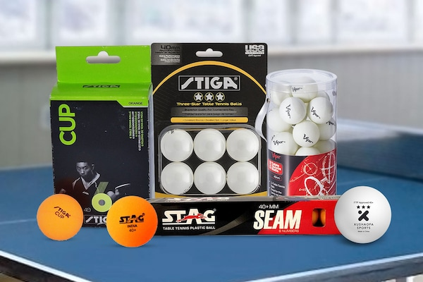 Best Table Tennis Balls : Up Your Gameplay Standards