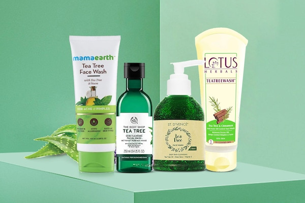 Tea Tree Oil Face Washes For Oily Skin