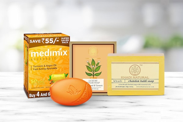 Turmeric Soaps That Can Work Up Magic On Your Skin