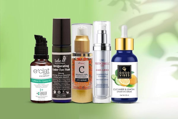 Under Eye Serums: Pamper The Delicate Skin With Ease