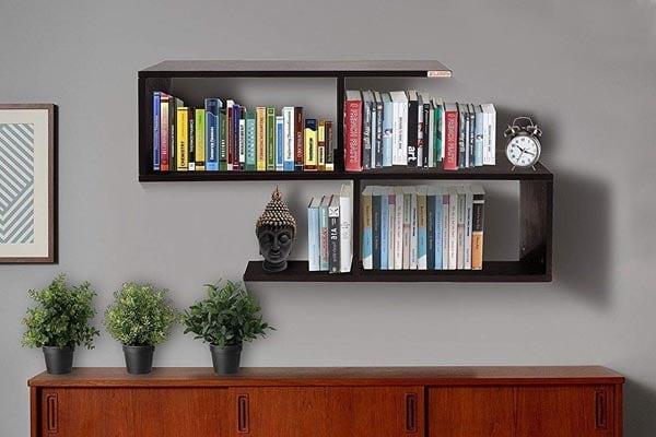 Klaxon G0223IT0047 Wood Wall Shelves