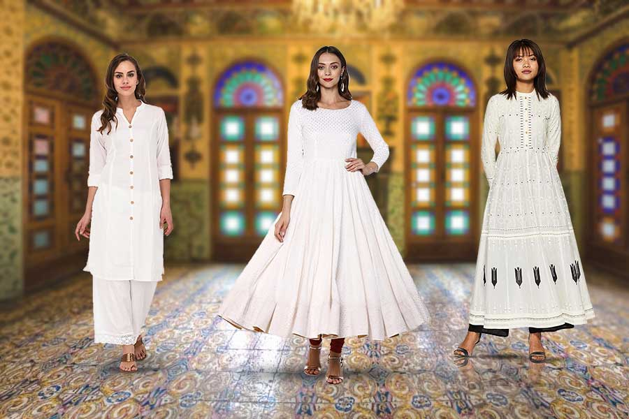 Best White Kurtas for Women : Elegance For Your Wardrobe