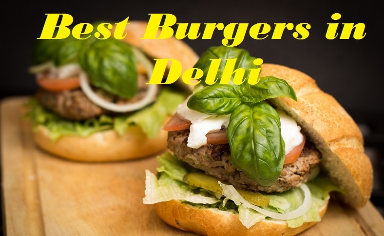 Places which serve Best Burgers in Delhi apart from McDonalds