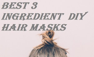 5 Best 3 Ingredient DIY Hair Masks of 2017 for Dry Frizzy Hair!