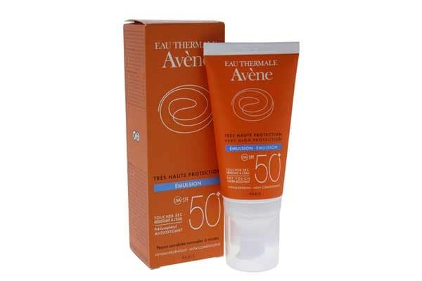 Best sunscreens in india Avene Very High Protection SPF 50+ Emulsion, 50 ml