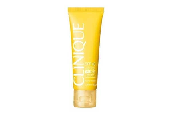 Best sunscreens in india - Clinique SPF 40 Face Cream