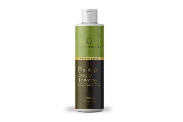 Life & Pursuits Organic Hair Oil For Hair Growth With Bhringraj, Amla, Coconut Oil & Castor Oil
