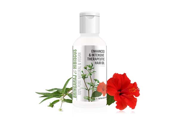 Vriddhi Intensive Bhringraj and Brahmi Hair Oil with Hibiscus