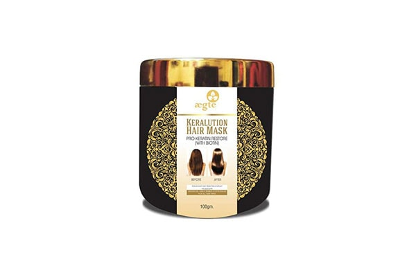 Aegte Keralution Hair Mask Infused with Keratin & Biotin for all Hair types