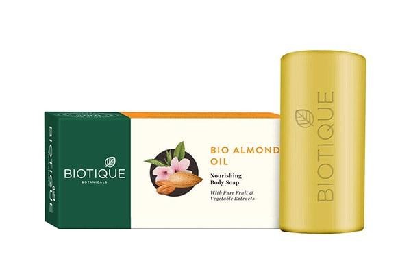 Biotique Almond Oil Nourishing Body Soap 1613067372626