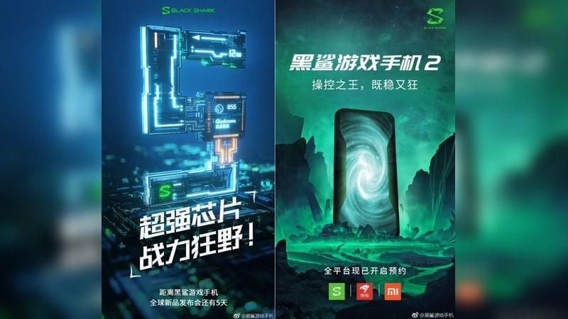 Black Shark 2 Gaming Smartphone Teasers Confirm Snapdragon 855 SoC, Registrations Go Live