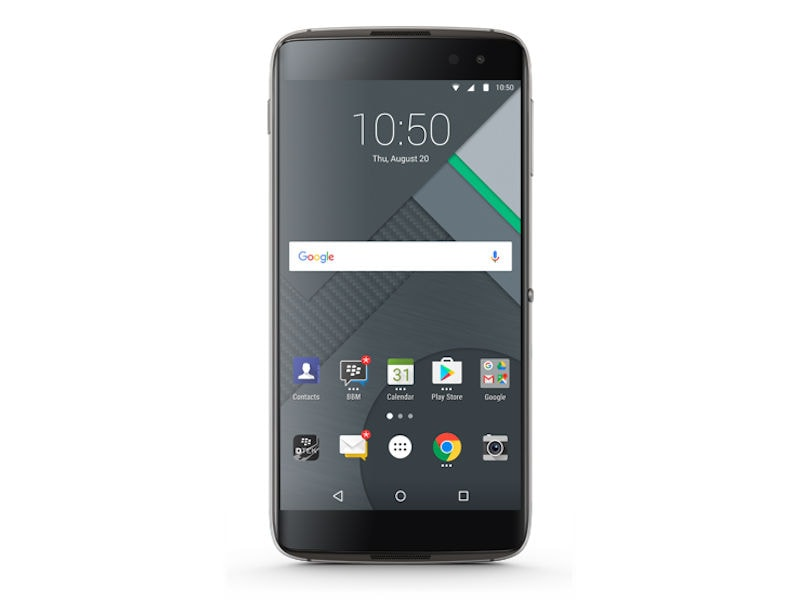 BlackBerry DTEK60 With 5.5-Inch Display, Android 6.0 Marshmallow Launched