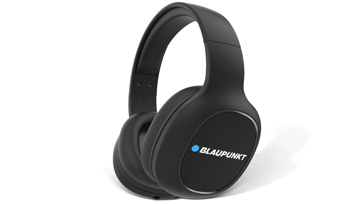fdc407cd49e Blaupunkt BH-21 Bluetooth Headphones With 24-Hour Battery Life, Turbo Bass  Mode