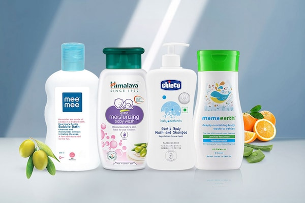 Body Washes For Babies: Safe And Chemical Free Formulas