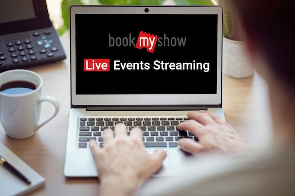 """BookMyShow Starts """"BookMyShow Online"""" For Live Events"""