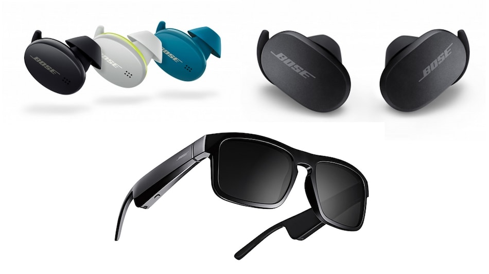 Bose QC Earbuds, Bose Sport Earbuds, Three Bose Frames Audio Sunglasses Launched in India
