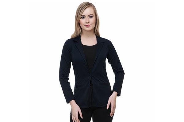Broadstar Womens Girls Single Breasted Blazer 1614550053766