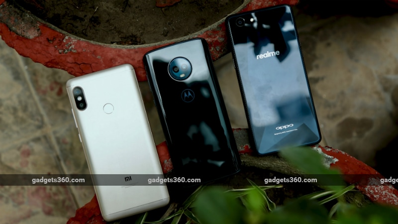 Budge comparison Inline2 Redmi Note 5 Pro vs Moto G6 vs Realme 1