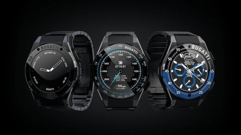 Bugatti Ceramique Edition One Pur Sport, Le Noire, Divo Smartwatch Models With 90 Sports Modes Launched