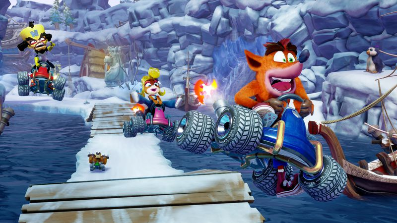 Crash Team Racing Remake for PS4, Nintendo Switch, and Xbox