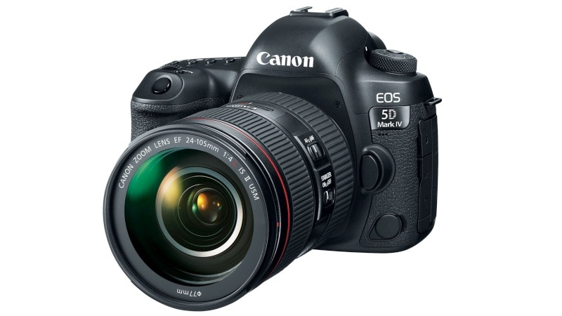 Canon EOS 5D Mark IV With 4K Video Support Launched in India at Rs. 2,54,995