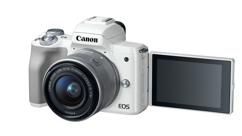 Canon EOS M50 Entry-Level Mirrorless Camera Launched With 24.1-Megapixel Sensor, 4K Video Recording