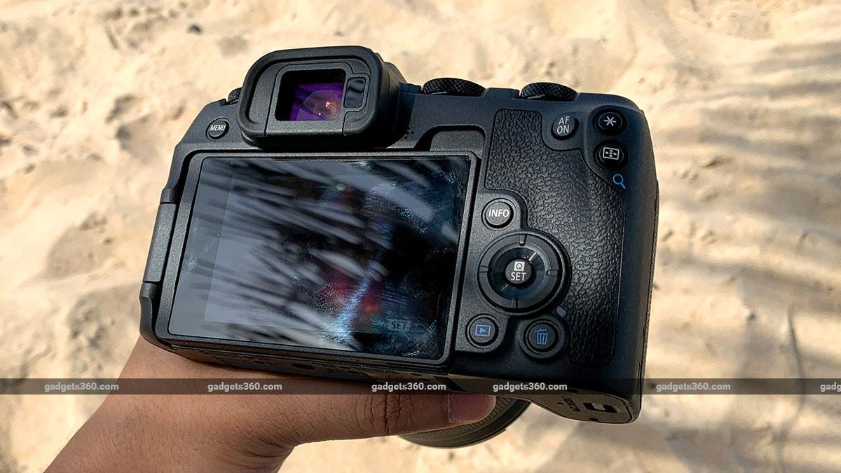 Canon EOS RP back ndtv canon