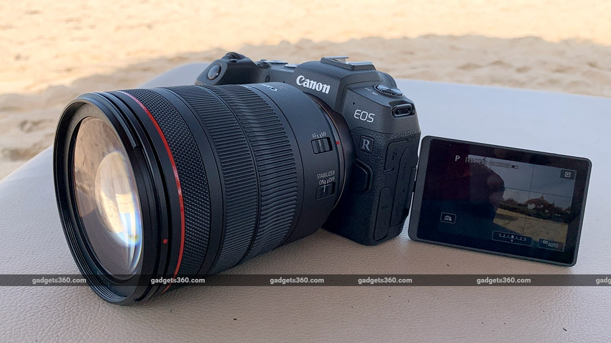 Canon Eos Rp Full Frame Mirrorless Camera Review Ndtv