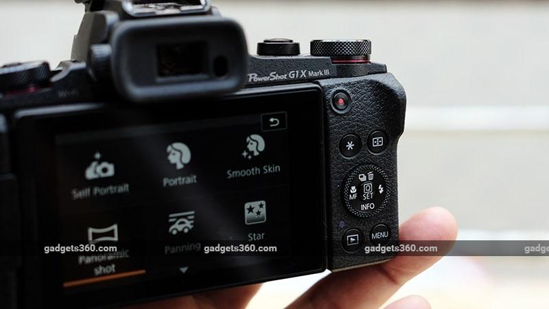 Canon G1X Mark III back ndtv canon
