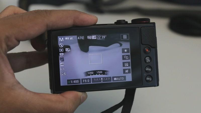 Canon G9X II menu ndtv canon