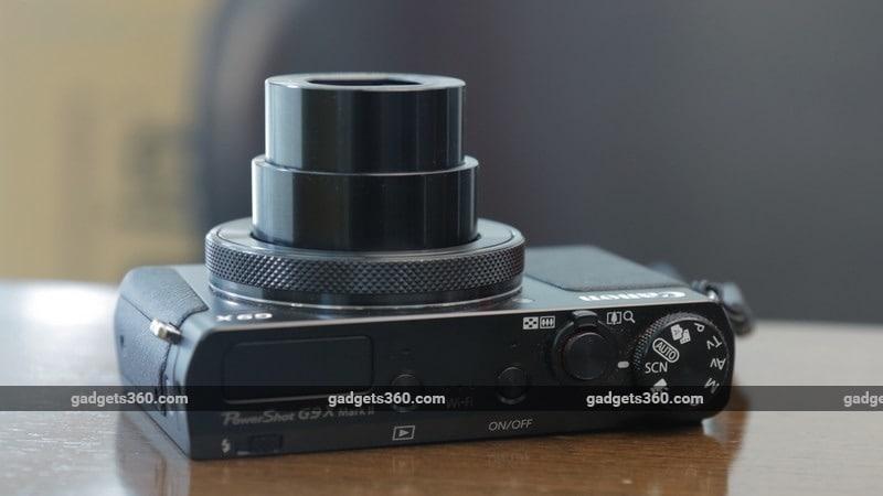 Canon G9 X MarkII top ndtv canon