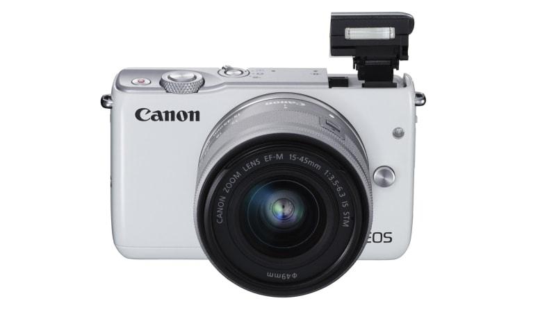 Canon EOS M100 Launched With 24.2-Megapixel Sensor and Dual Pixel Autofocus