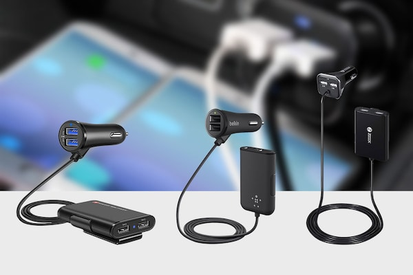 Car Extension USB Chargers For Your Next Road Trip