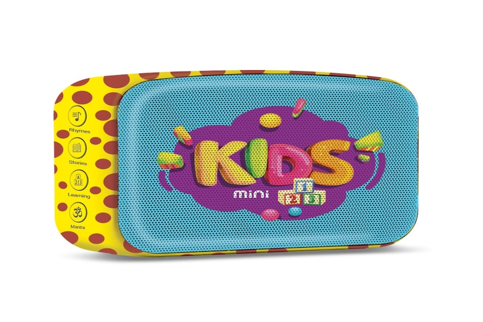 Saregama Carvaan Mini Kids Bluetooth Speaker Launched, Pre-loaded with Rhymes and Stories