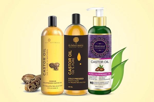 Pure Castor Oil Formulas for Hair Growth