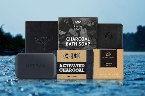 Charcoal Bath Soaps For Men: For A Detoxified Skin