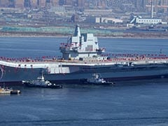 Pictures Of First China-Made Aircraft Carrier 'Type 001A' As Sea Trials Begin