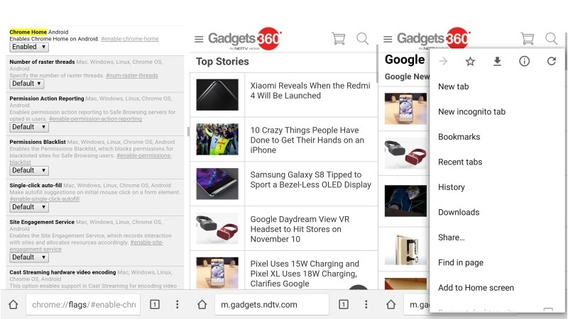 Chrome for Android Could Soon Be Used One-Handed, With New Location for Address Bar