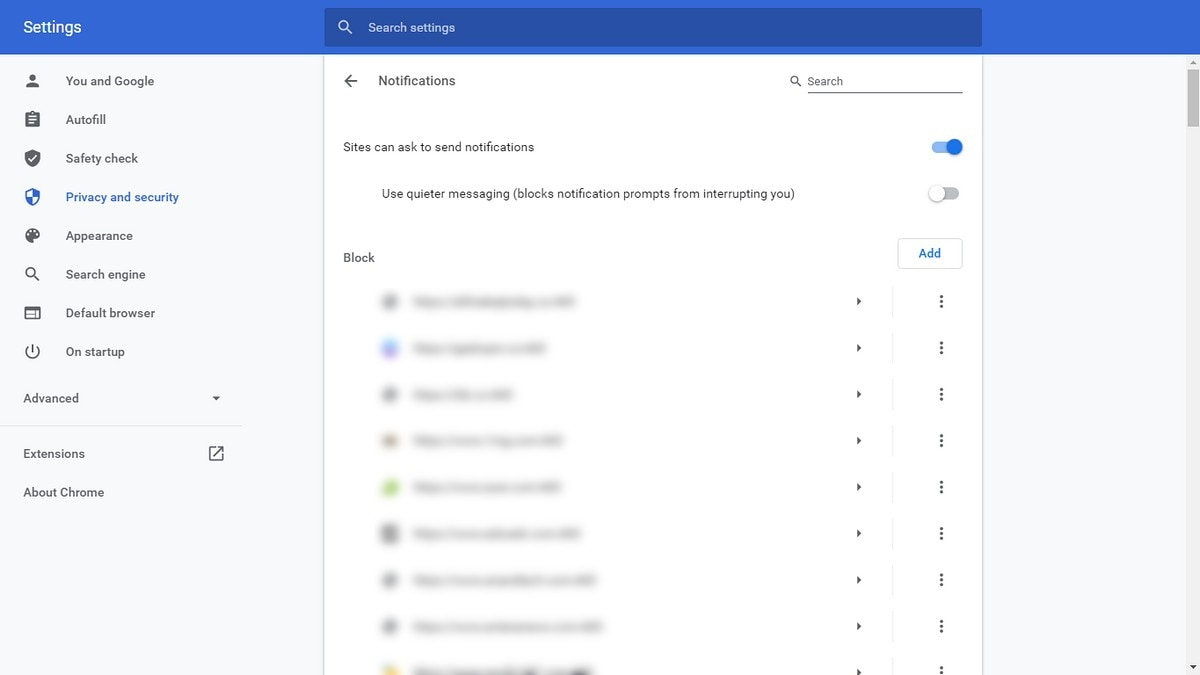 How to Block Sites From Sending You Notifications on Chrome