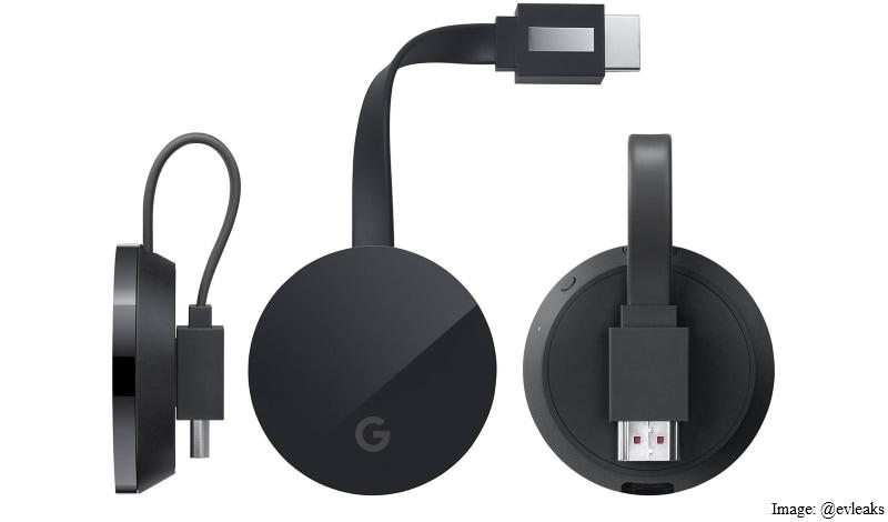 Google 4K Chromecast Ultra Dongle's Leaked Images Show a New Logo