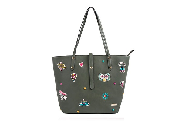 Chumbak Womens Travel Patches Tote Bag 1610993910946