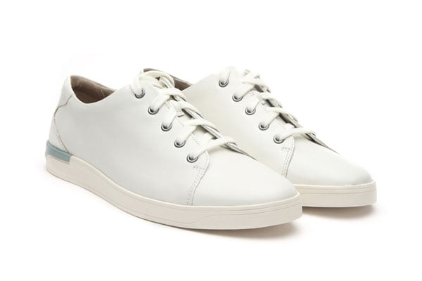 White Sneakers - Clarks