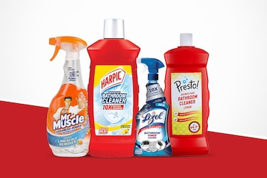 Best Bathroom Cleaners: Go Clean And Bacteria Free