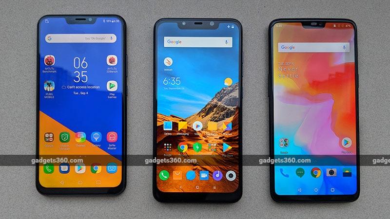 Xiaomi Poco F1 vs OnePlus 6 vs Asus ZenFone 5Z: Which One Should You Buy?
