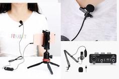Top Condenser Microphones For Voice Recording in Studios