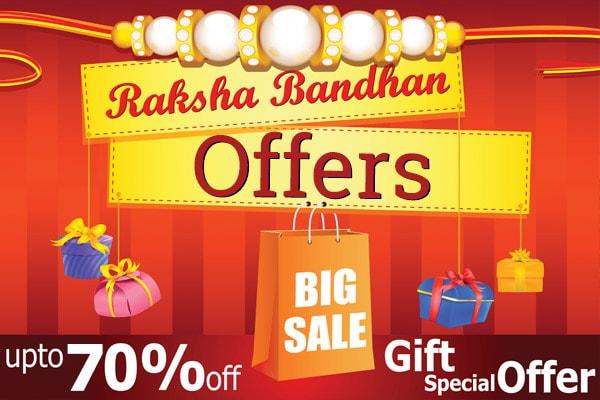 Amazing Raksha Bandhan Offers To Grab, Brothers Take a Note