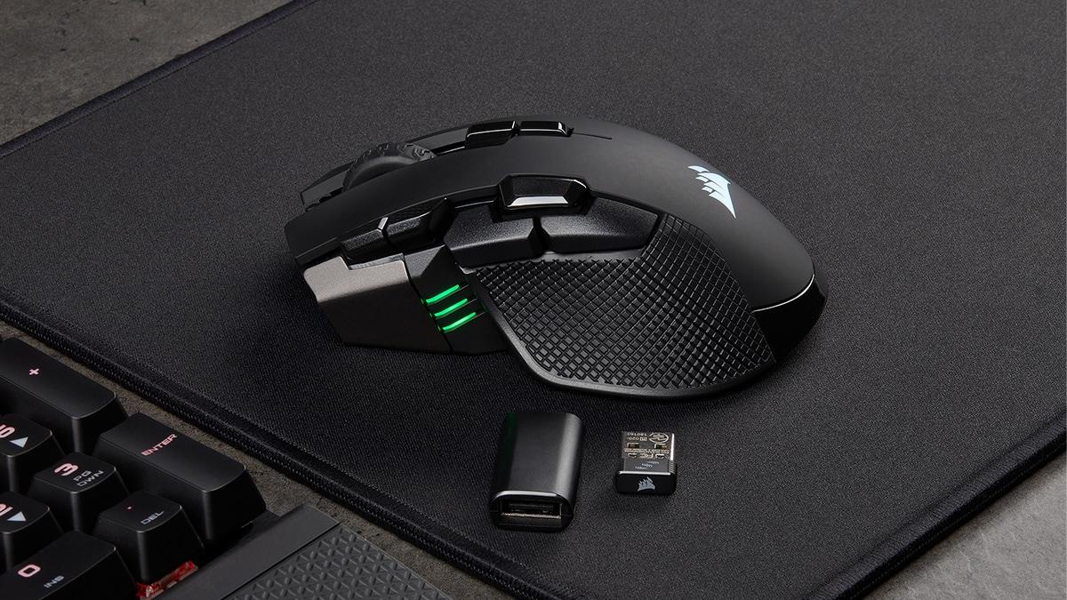 Corsair Ironclaw RGB Wireless, Glaive RGB Pro Gaming Mice