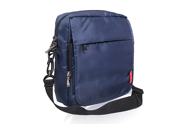 Cosmus Rome Navy Blue Crossbody Shoulder Sling Bag 1613154945914